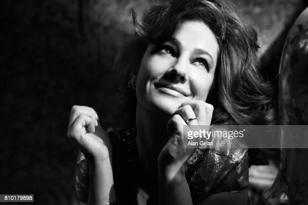 Actor Giovanna Mezzogiorno is photographed for Vanity Fair Italy on March 3 2010 in Milan Italy