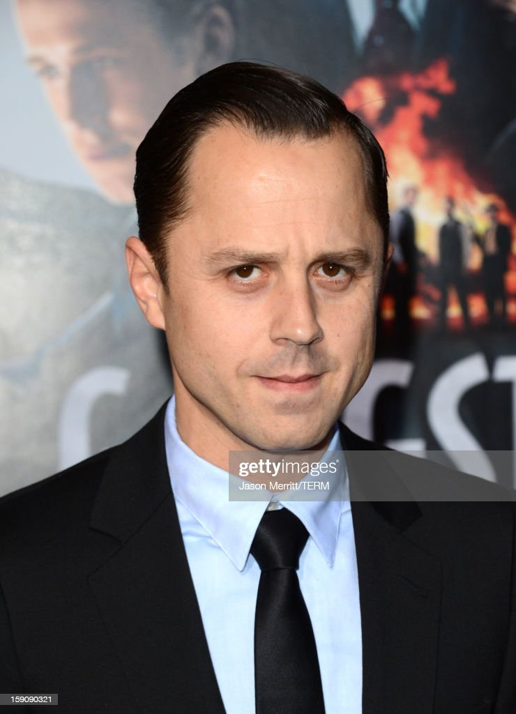 Actor Giovanni Ribisi arrives at Warner Bros. Pictures' 'Gangster Squad' premiere at Grauman's Chinese Theatre on January 7, 2013 in Hollywood, California.