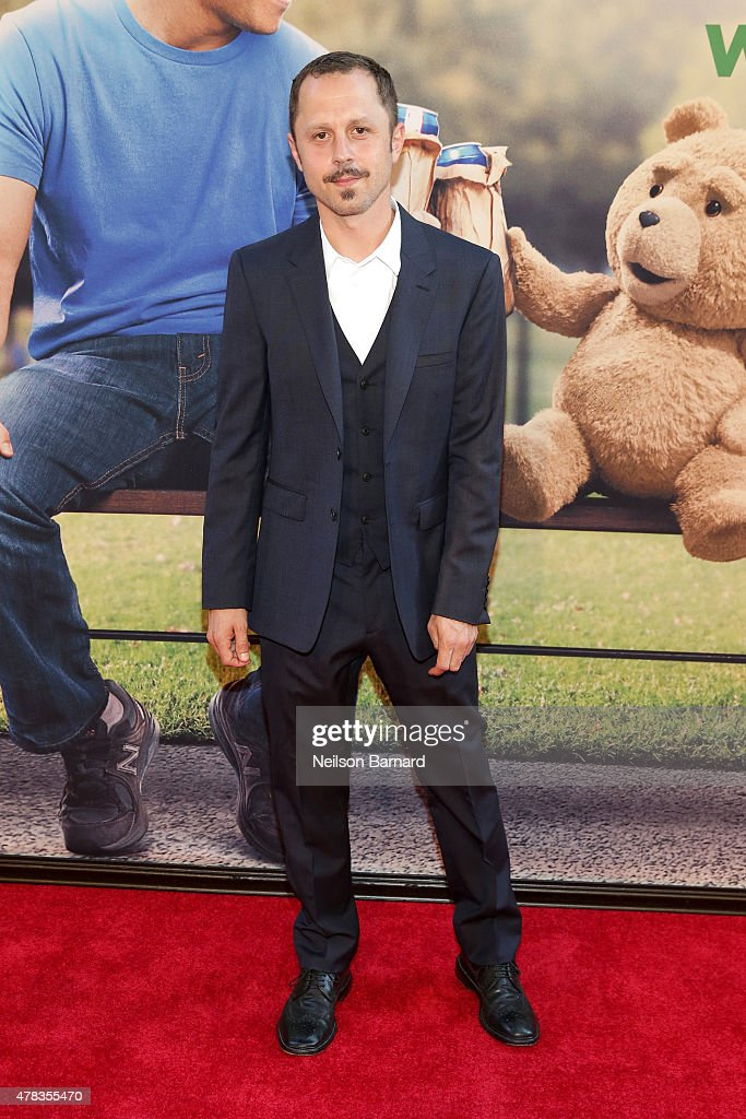 Actor <a gi-track='captionPersonalityLinkClicked' href=/galleries/search?phrase=Giovanni+Ribisi&family=editorial&specificpeople=540443 ng-click='$event.stopPropagation()'>Giovanni Ribisi</a> attends the New York Premiere of 'Ted 2' at the Ziegfeld Theater on June 24, 2015 in New York City.