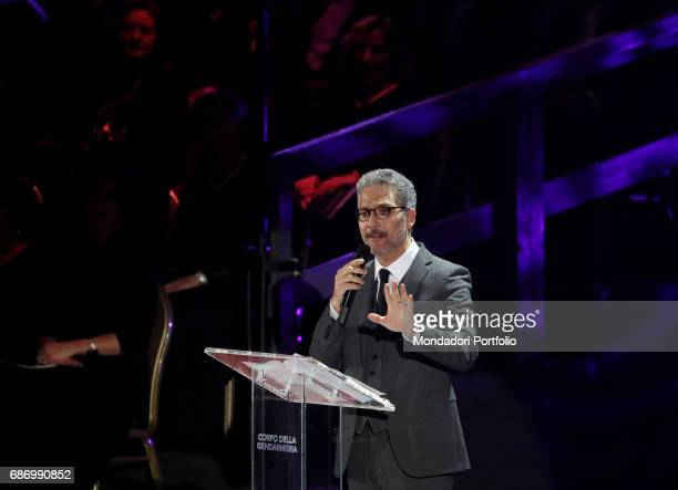 Actor Giuseppe Fiorello attending to singer and songwriter Claudio Baglioni's charity concert 'Avrai' in the Paul VI Audience Hall in favor of the...