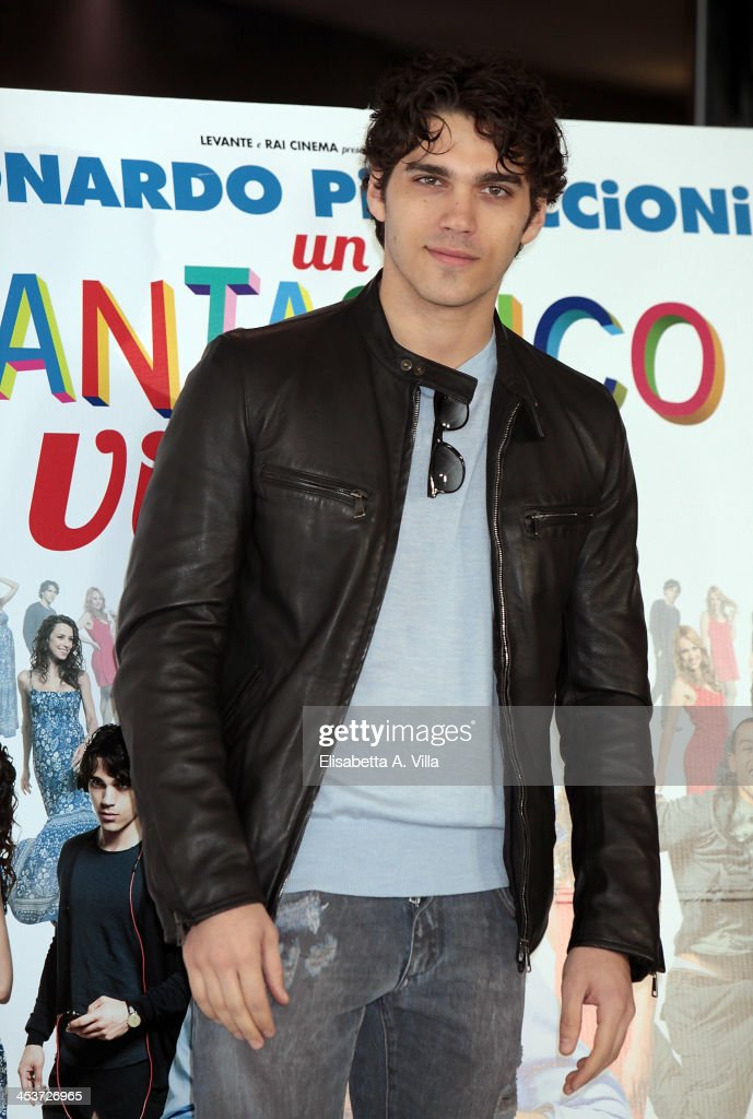 Actor Giuseppe Maggio attends 'Un Fantastico Via Vai' photocall at Cinema Adriano on December 5, 2013 in Rome, Italy.
