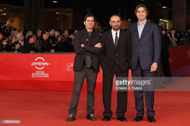 Actor Giuseppe Tornatore and director Gerardo Panichi attend the 'Giuseppe Tornatore Ogni Film Un'Opera Prima' Premiere during the 7th Rome Film...