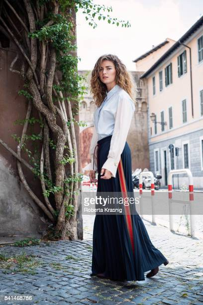 Actor Giusy Buscemi is photographed on July 28 2017 in Rome Italy