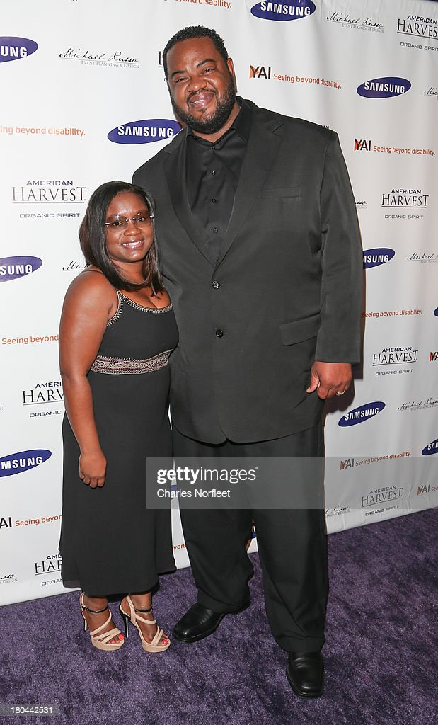 Actor Gizzz Chapman and his wife Diane Chapman attend A Tribute To Sherri Shepherd at Clyde Frazier's Wine and Dine on September 12 2013 in New York...