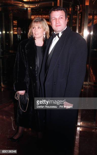 Actor Glen Murphy arriving at a Valentine's Ball at the Hilton Hotel in London to raise money for the Rhys Daniels Trust Rhys died from the crippling...