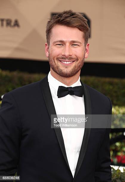 Actor Glen Powell arrives at the 23rd Annual Screen Actors Guild Awards at The Shrine Expo Hall on January 29 2017 in Los Angeles California