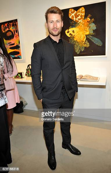 Actor Glen Powell attends Dior Lady Art Los Angeles Popup Boutique Opening Event on December 6 2016 in Beverly Hills California