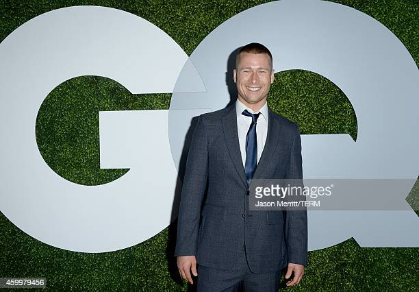 Actor Glen Powell attends the 2014 GQ Men Of The Year party at Chateau Marmont on December 4 2014 in Los Angeles California