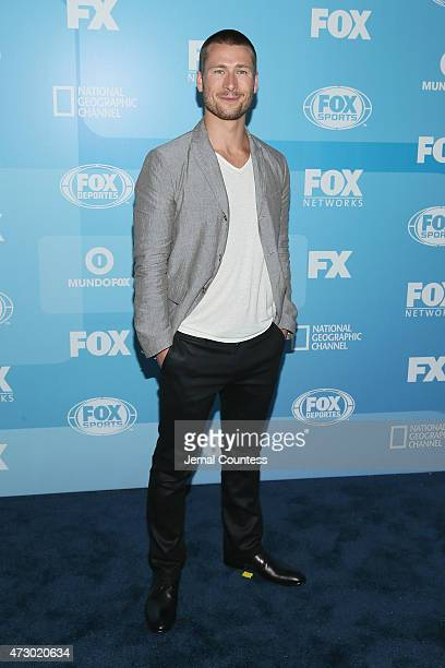 Actor Glen Powell attends the 2015 FOX programming presentation at Wollman Rink in Central Park on May 11 2015 in New York City