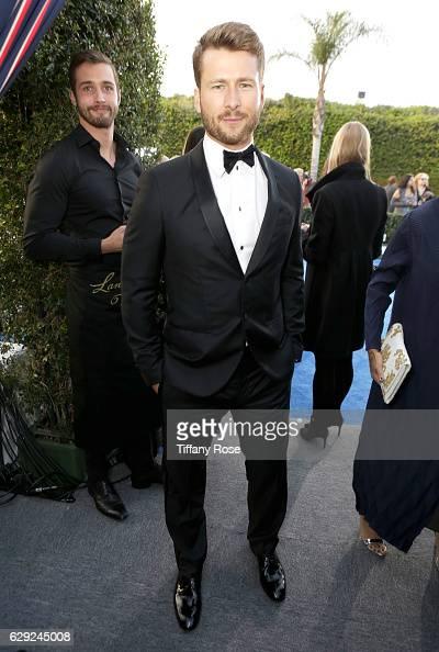Actor Glen Powell attends The 22nd Annual Critics' Choice Awards at Barker Hangar on December 11 2016 in Santa Monica California
