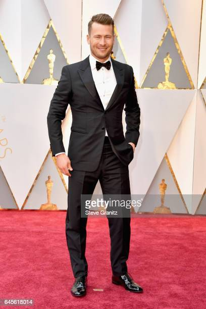 Actor Glen Powell attends the 89th Annual Academy Awards at Hollywood Highland Center on February 26 2017 in Hollywood California