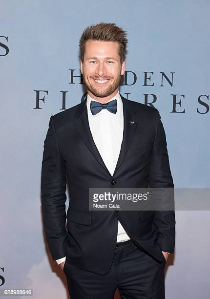 Actor Glen Powell attends the 'Hidden Figures' New York special screening on December 10 2016 in New York City