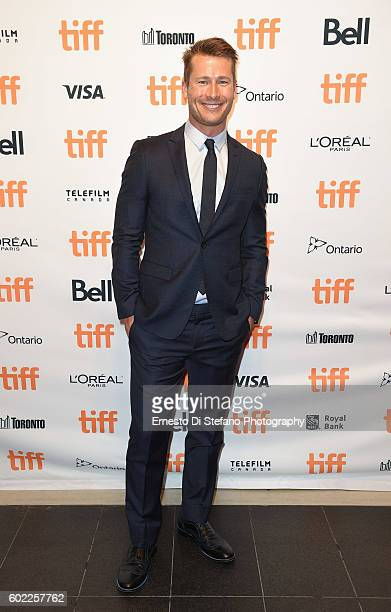 Actor Glen Powell attends the 'Hidden Figures' premiere during the 2016 Toronto International Film Festival at TIFF Bell Lightbox on September 10...
