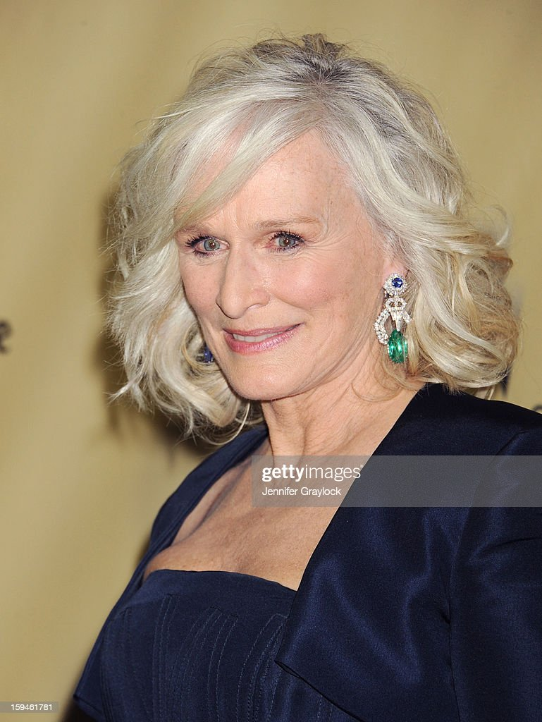 Actor Glenn Close attends The Weinstein Company's 2013 Golden Globes After Party held at The Old Trader Vic's in The Beverly Hilton Hotel on January 13, 2013 in Beverly Hills, California.