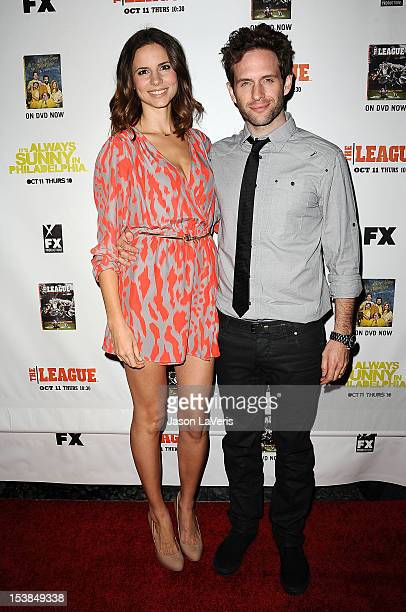 Actor Glenn Howerton and wife Jill Latiano attend the FX season premiere screenings for 'It's Always Sunny In Philadelphia' and 'The League' at...