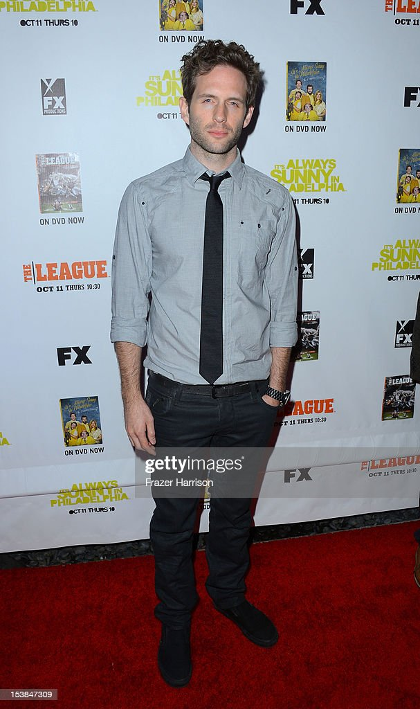 Actor Glenn Howerton arrives at the Premiere Screenings of FX's 'It's Always Sunny In Philadelphia' Season 8 And 'The League' Season 4 -at ArcLight Cinemas Cinerama Dome on October 9, 2012 in Hollywood, California.
