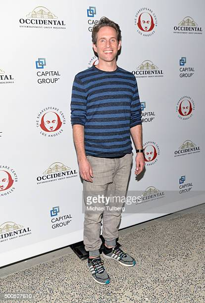 Actor Glenn Howerton attends the 25th Annual Simply Shakespeare Benefit for the Shakespeare Center of Los Angeles at The Broad Stage on December 8...