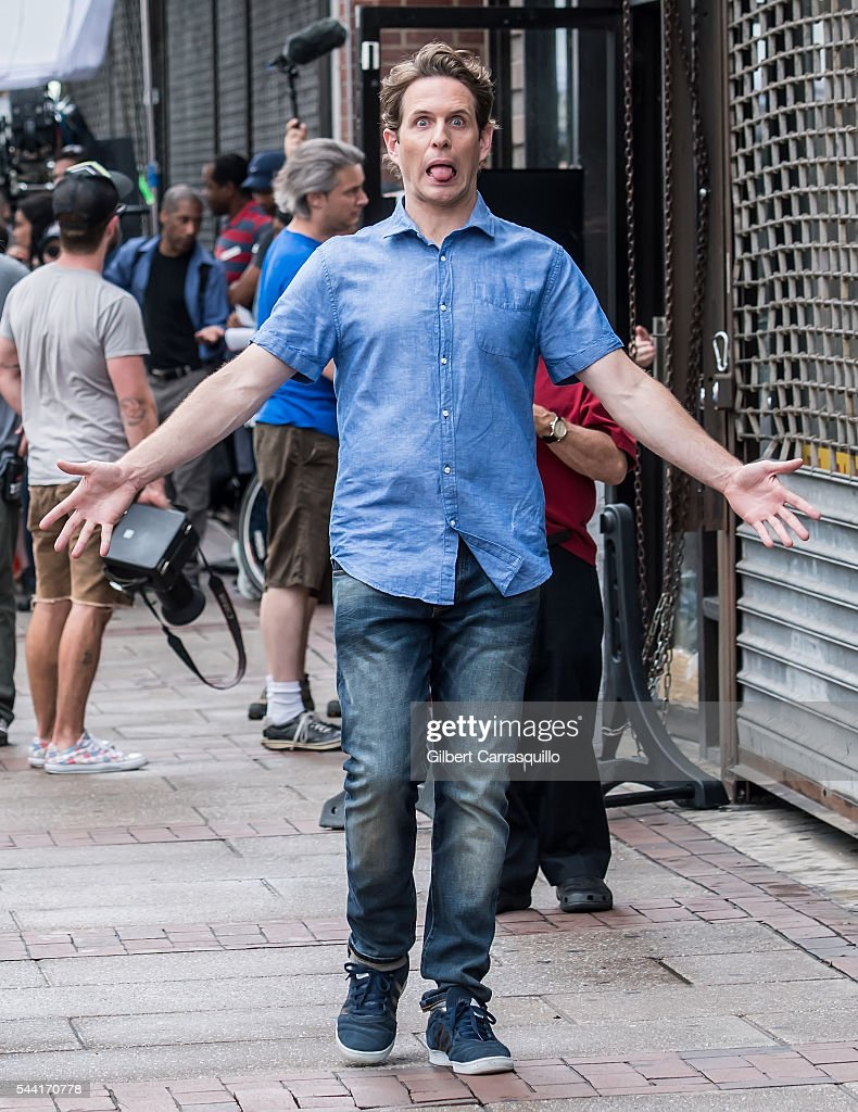 Actor <a gi-track='captionPersonalityLinkClicked' href=/galleries/search?phrase=Glenn+Howerton&family=editorial&specificpeople=537733 ng-click='$event.stopPropagation()'>Glenn Howerton</a> is seen filming scenes of season 12 of 'It's Always Sunny In Philadelphia' sitcom on July 1, 2016 in Philadelphia, Pennsylvania.