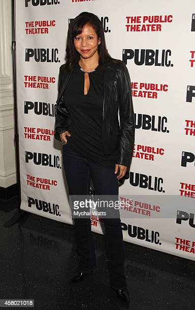 Actor Gloria Ruben attends the 'Father Comes Home From The Wars' opening night at The Public Theater on October 28 2014 in New York City