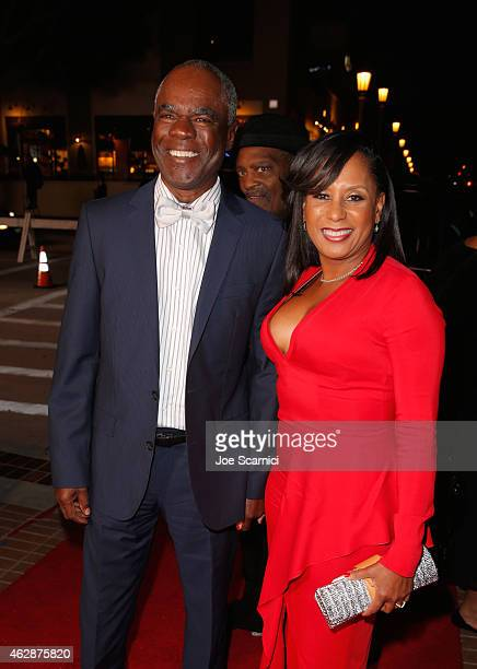 Actor Glynn Turman and JoAnn Allen attends the 46th NAACP Image Awards presented by TV One at Pasadena Civic Auditorium on February 6 2015 in...