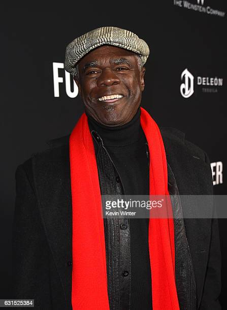 Actor Glynn Turman arrives at the premiere of the Weinstein Company's 'The Founder' at the Cinerama Dome on January 11 2017 in Los Angeles California