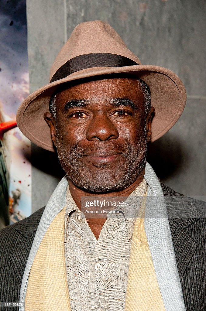 Actor Glynn Turman attends the 'Red Tails' VIP opening night screening at Rave Baldwin Hills 15 Theatres on January 20 2012 in Los Angeles California