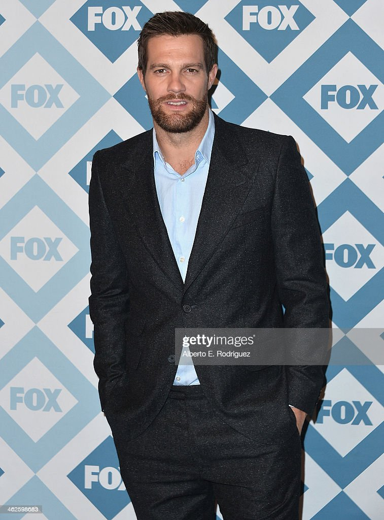 Actor Goeff Stults arrives to the 2014 Fox AllStar Party at the Langham Hotel on January 13 2014 in Pasadena California