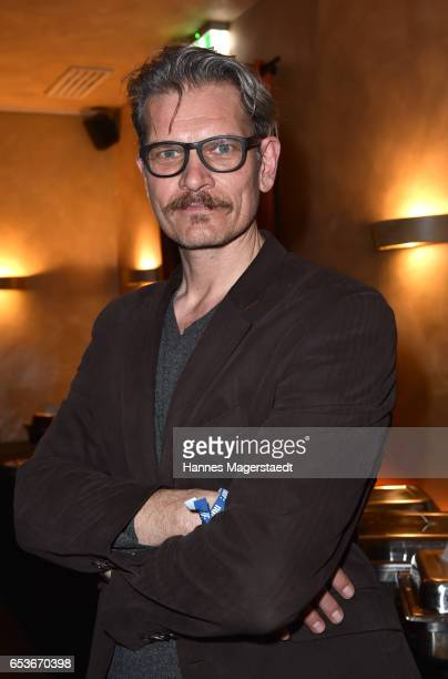 Actor Goetz Otto during the NdF after work press cocktail at Parkcafe on March 15 2017 in Munich Germany