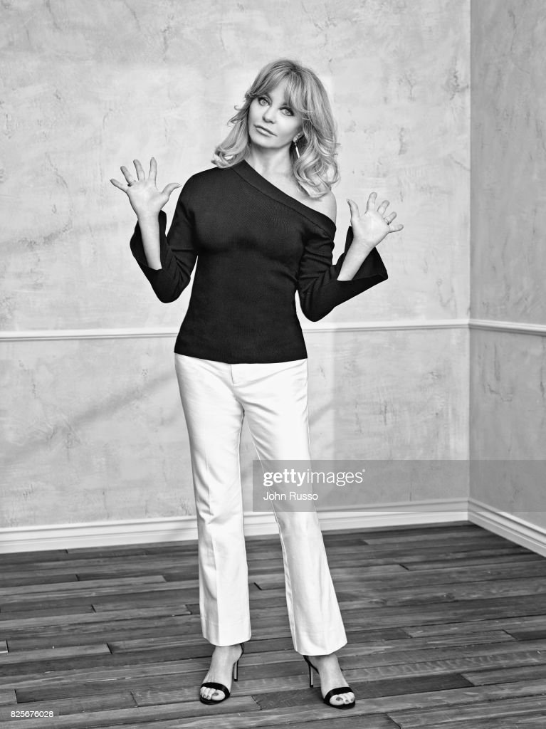 Actor Goldie Hawn is photographed with Goldie Hawn for 20th Century Fox Press Shoot on February 24, 2017 in Los Angeles, California.
