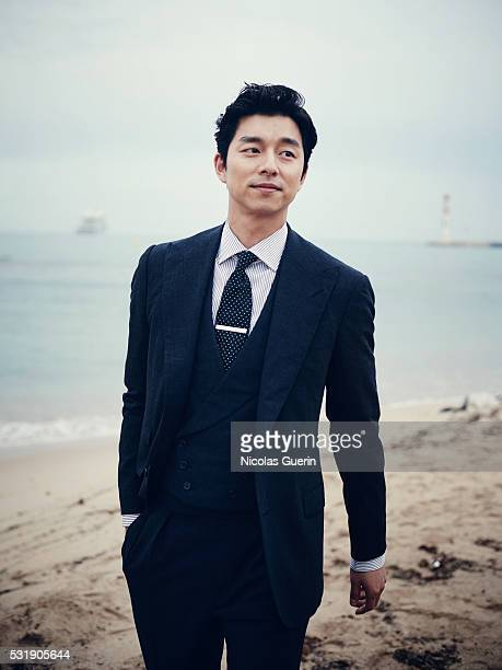 Actor Gong Yoo is photographed for Self Assignment on May 14 2016 in Cannes France