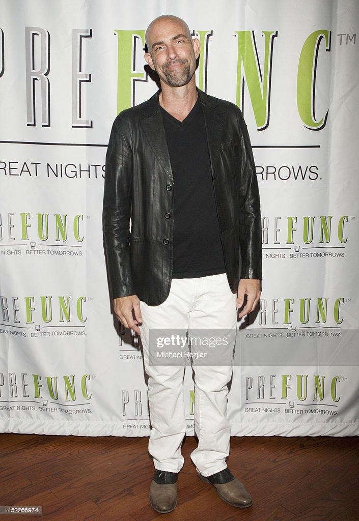 Actor Gonzalo Menendez attends PREFUNC At The Celebrity Sweat VIP Party at The Palm on July 16, 2014 in Los Angeles, California.