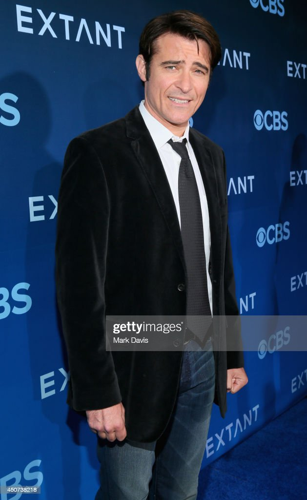 Actor <a gi-track='captionPersonalityLinkClicked' href=/galleries/search?phrase=Goran+Visnjic&family=editorial&specificpeople=213921 ng-click='$event.stopPropagation()'>Goran Visnjic</a> attends Premiere Of CBS Television Studios & Amblin Television's 'Extant' at California Science Center on June 16, 2014 in Los Angeles, California.