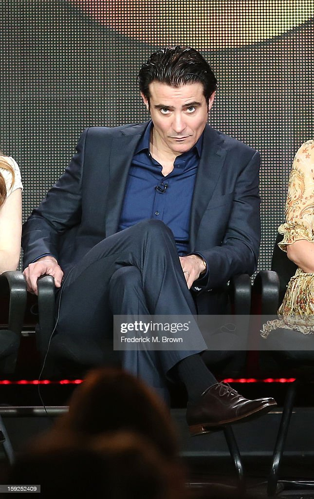 Actor Goran Visnjic of 'Red Widow' speaks onstage during the ABC portion of the 2013 Winter TCA Tour at Langham Hotel on January 10, 2013 in Pasadena, California.