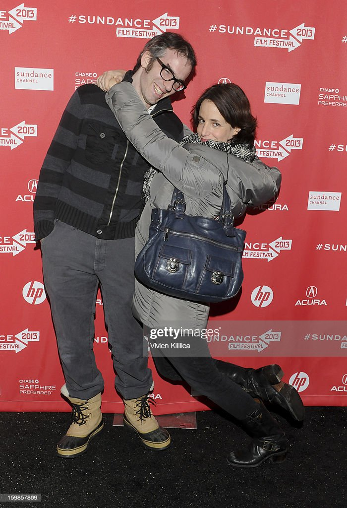 Actor Gordon Kindlmann and actress Anne Dodge attends 'Computer Chess' Premiere - 2013 Sundance Film Festival at Library Center Theater on January 21, 2013 in Park City, Utah.