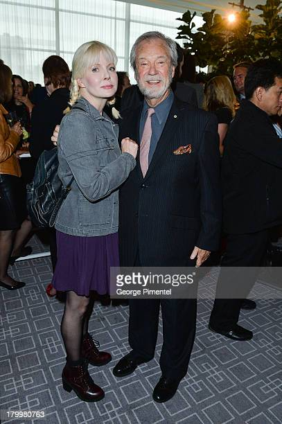 Actor Gordon Pinsent and wife Charmion King attend the George Christy Luncheon during the 2013 Toronto International Film Festival at Four Seasons...