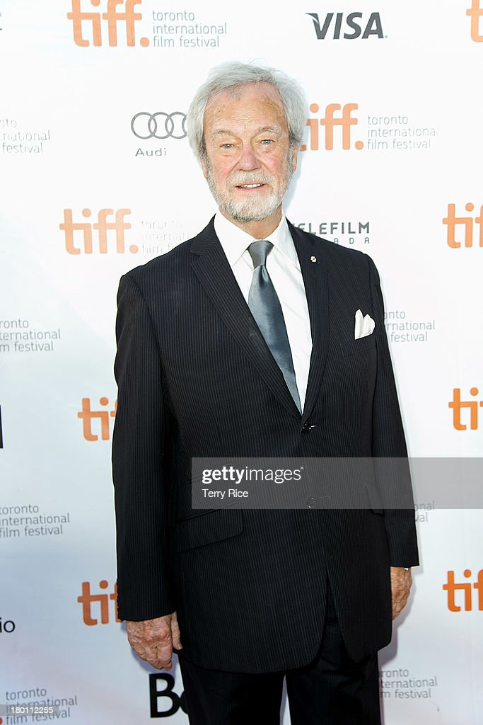 Actor <a gi-track='captionPersonalityLinkClicked' href=/galleries/search?phrase=Gordon+Pinsent&family=editorial&specificpeople=3108972 ng-click='$event.stopPropagation()'>Gordon Pinsent</a> attends 'The Grand Seduction' premiere during the 2013 Toronto International Film Festival at Roy Thomson Hall on September 8, 2013 in Toronto, Canada.