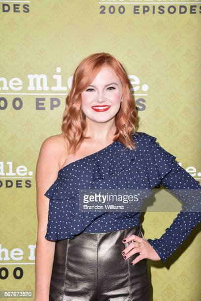 Actor Grace Bannon attends ABC's 'The Middle' 200th epidsode celebration at Fig Olive on October 28 2017 in West Hollywood California