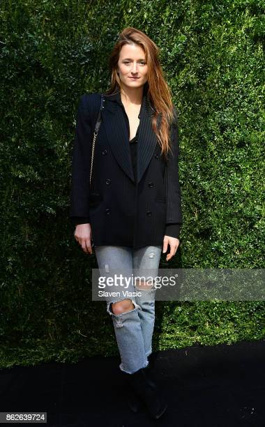 Actor Grace Gummer attends Through Her Lens The Tribeca Chanel Women's Filmmaker Program Luncheon at Locanda Verde on October 17 2017 in New York City