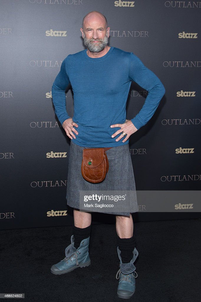 Actor Graham McTavish attends the 'Outlander' Mid-Season Premiere at the Ziegfeld Theater on April 1, 2015 in New York City.