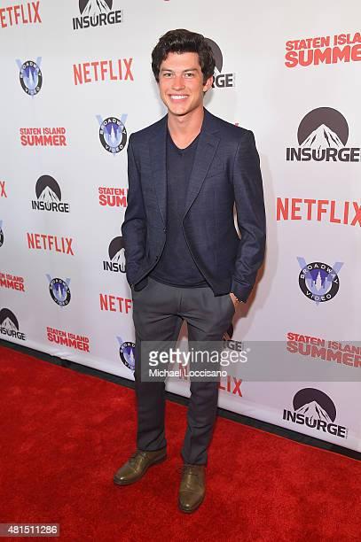 Actor Graham Philips attends the 'Staten Island Summer' New York Premiere at Sunshine Landmark on July 21 2015 in New York City