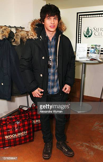 Actor Graham Phillips attends Day 4 of The Variety Studio during the 2012 Sundance Film Festival held at Variety Studio At Sundance on January 24...