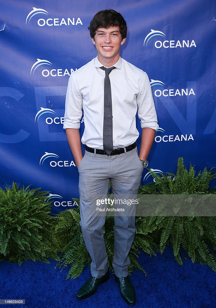 Actor Graham Phillips attends the 2012 Oceana's SeaChange summer party on July 29, 2012 in Laguna Beach, California.