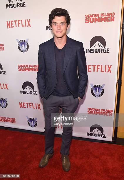 Actor Graham Phillpis attends the 'Staten Island Summer' New York Premiere at Sunshine Landmark on July 21 2015 in New York City