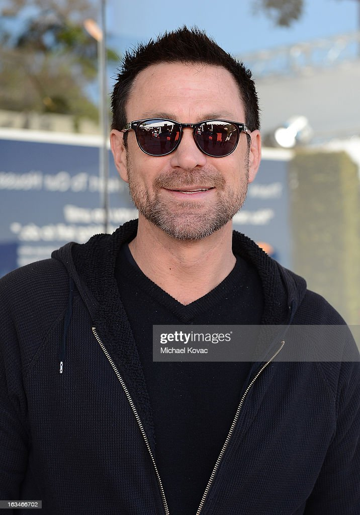 Actor <a gi-track='captionPersonalityLinkClicked' href=/galleries/search?phrase=Grant+Bowler&family=editorial&specificpeople=453292 ng-click='$event.stopPropagation()'>Grant Bowler</a> wearing John Varvatos Eyewear at the 10th Annual Stuart House Benefit presented by Chrysler at John Varvatos Los Angeles on March 10, 2013 in Los Angeles, California.