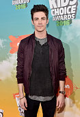 Actor Grant Gustin attends Nickelodeon's 2016 Kids' Choice Awards at The Forum on March 12 2016 in Inglewood California