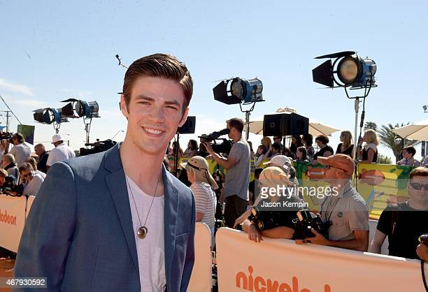 Actor Grant Gustin attends Nickelodeon's 28th Annual Kids' Choice Awards held at The Forum on March 28 2015 in Inglewood California