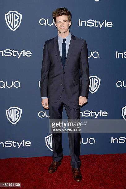 Actor Grant Gustinattends the 2014 InStyle and Warner Bros 71st Annual Golden Globe Awards PostParty on January 12 2014 in Beverly Hills California