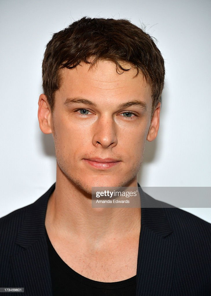 Actor Grant Harvey arrives at the 31st Annual Outfest Los Angeles LGBT Film Festival screening of 'Geography Club' at Directors Guild Of America on July 14, 2013 in Los Angeles, California.