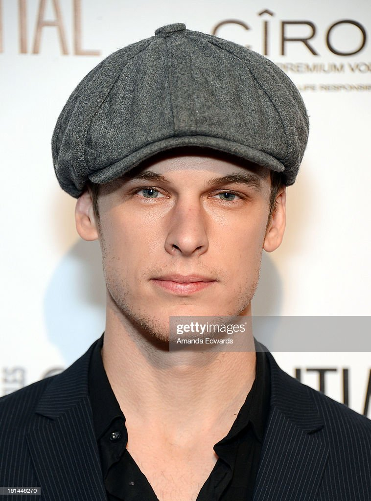 Actor Grant Harvey arrives at the Los Angeles Confidential and Harmony Project GRAMMY after party honoring Mary J. Blige at Elevate Lounge on February 10, 2013 in Los Angeles, California.