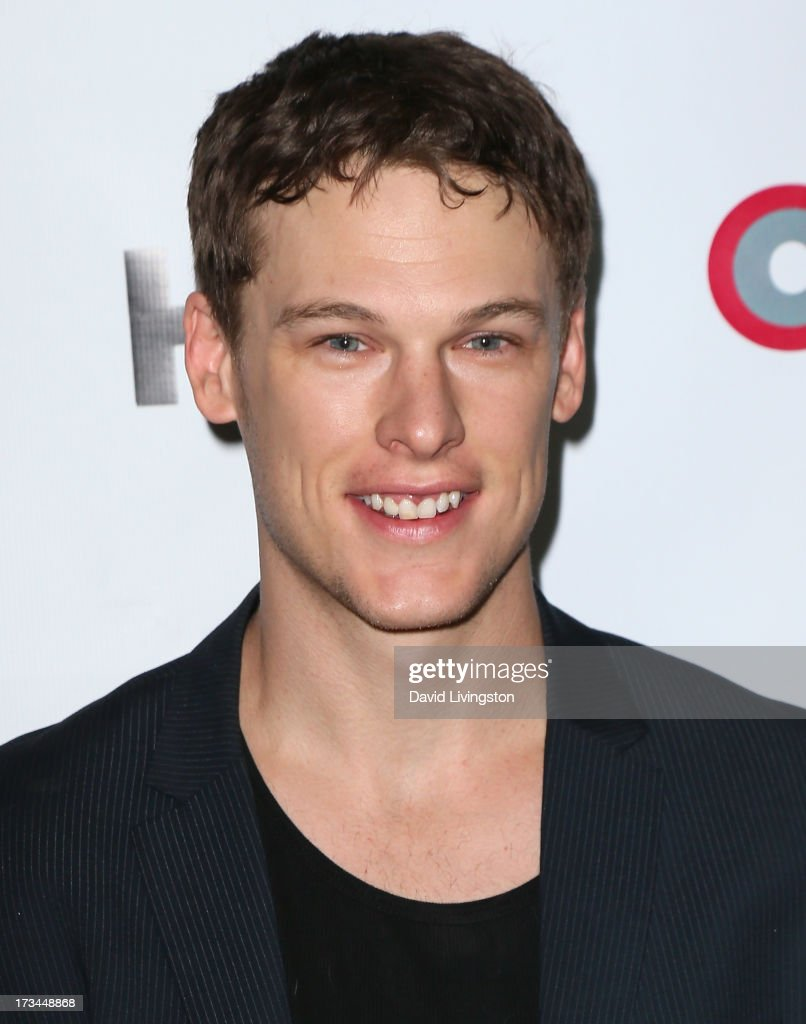 Actor Grant Harvey attends the 2013 Outfest Film Festival 'Geography Club' screening at the Directors Guild Of America on July 14, 2013 in Los Angeles, California.